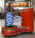 Apparemment, il y a un trafic d'emballage de valises à l'aéroport de Roissy
