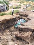Congo-B-Environnement : les érosions bousculent les lignes du transport en commun à Brazzaville