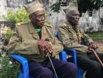 RDC: Kinshasa honore les derniers combattants de l'armée coloniale belge