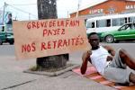 Congo-B : dans un rond-point de Brazzaville, un jeune de la société civile en grève de la faim